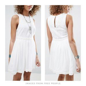 Free People ▪ White Birds of a Feather Dress